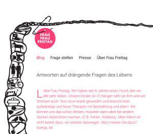 Frag Frau Freitag - Blog für alle Lebenslagen aus der Schweiz