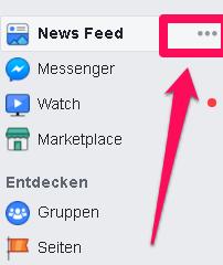 versteckte Facebook Funktionen