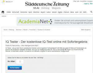 interaktiver Content_IQteste_Süddeutsche_Zeitung