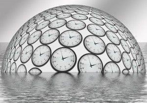 Uhren als Kugel_Wasser