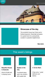 Newsletter Immobilien