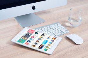 Appel Pc mit Tablet